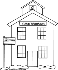 Small Picture School House Coloring Pages GetColoringPagescom