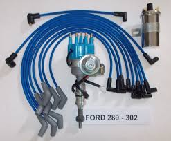 ford spark plug wires small block ford 289 302 blue small hei distributor 45k coil spark plug