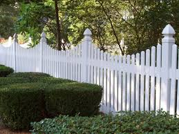 vinyl fence ideas. Image Of: Missouri White Vinyl Fence Ideas