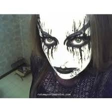 black metal and corpse paint finally a female with corpse paint goth makeup hair makeup beauty makeup