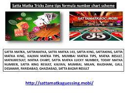 Matka Satta Number Chart Desawar Satta Matka Tricks Zone Tips Formula Number Chart Scheme