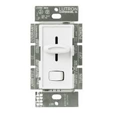 lutron skylark scl 153p wh cfl or led dimmer white Lutron Dimmer Switch Wiring Diagram lutron skylark cfl and led dimmer single pole 3 way image lutron 4-way dimmer switch wiring diagram