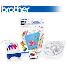 Brother Embroidery Machine Design Software Buy Brother Pe Design Lite Embroidery Software Comes With