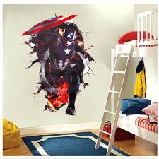 baby nursery avengers baby nursery through wall stickers decals art for home bedroom