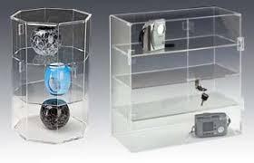 Jewelry Display Floor Stands Jewelry Display Cases Counter Floor Standing Glass Acrylic 16