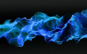 Blue fire wallpaper HD download free ...