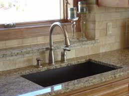 Hahn Brown Granite Extra Large 60 40 Double Bowl 10x10 Kitchen Cabinets