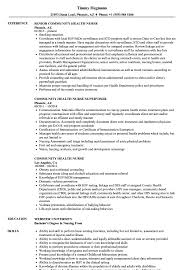 community health resume community health nurse resume example my sample image result for