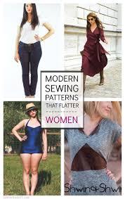 Modern Sewing Patterns Interesting 48 Modern Sewing Patterns That Flatter Women Sew Fancy Pinterest