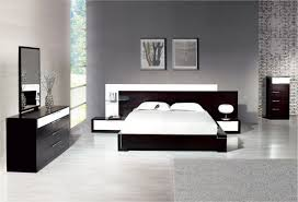 white bedroom furniture design. Inspiring-sophisticated-black-and-white-bedroom -interiors-also-grey-rug-on-laminate-floor-plus-wall-mounted-nightstand- Design White Bedroom Furniture R