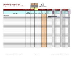 Project Management Plan Excel Excel Project Management