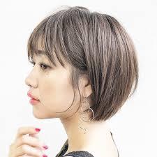 大人可愛い髪型no1アレンジしやすいボブスタイル大特集hair