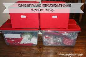 Storage For Christmas Decorations Christmas Storage Solutions