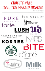 top free mid high end makeup brands