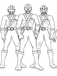 Power Rangers Ninja Storm Colouring Pages Coloring Page Ranger