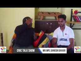 Ganesh gaikar at.Cric talk show with prasad parab sir & 10cric live -  YouTube