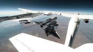 space launch of Richard Branson ...