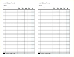 Irs Mileage Log Excel Mileage Spreadsheet For New Expense Template Beautiful
