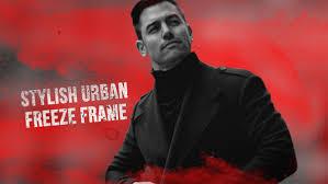stylish urban freeze frame by