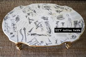 DIY Decoupage Coffee Table  Furniture Design Tutorial with Mr Kate   YouTube