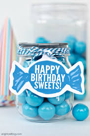 sweet candy birthday ideas and printables