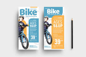 Basic Flyer Template Free Childrens Cycling Templates For Photoshop