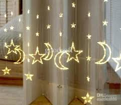 led light curtain warm white led moon stars lights curtain light string led light string light led light curtain 2 warm white