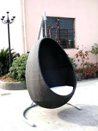 wicker egg swing chair outdoor egg chair swing hanging chair furniture outdoor hanging egg chair nz