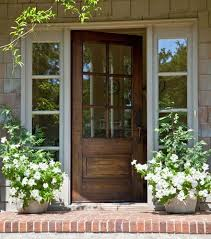 exterior back doors with windows. home \u0026 garden - front door and porch -- i love the warmth of brick exterior back doors with windows