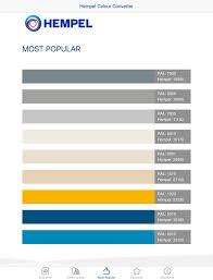 Epifanes Colour Chart Hempel Paint Ral Color Chart Bedowntowndaytona Com