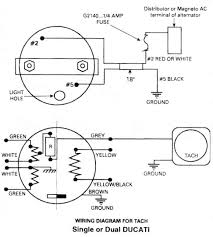ducati tachometer, ducati ignitionwiring diagram for rotax 447 rotax 503 regulator rectifier at Rotax 503 Wiring Diagram
