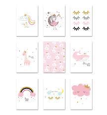 Little Princess Canvas <b>Children Poster</b> Baby Nursery Wall Art Print ...