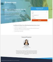 Best Splash Page Designs The 8 Best Webinar Landing Page Examples What They Get
