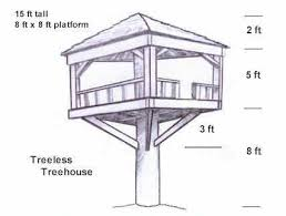 Interesting Kids Tree House Plans Designs Free Backyard Playground For Playsets Swingsets With Design Inspiration