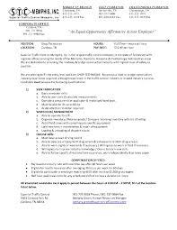 Best Solutions Of Resumes Maintenance Technician Maintenance