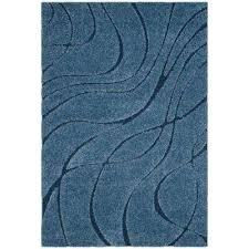 florida light blue blue 5 ft x 8 ft area rug