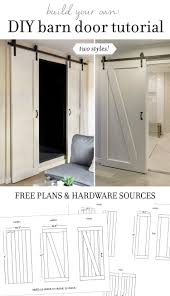 Making Barn Door Hardware Diy Barn Door Plans Tutorial Jenna Sue Design Blog