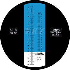 Refractometer Honey 10 32 Water Honey 58 90 Brix Sugar Beekeeping Honey Condensed Milk Sugar Syrup Fruit Jam Hamh Optics Tools