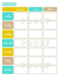weekly meal planning for two re designed weekly meal planning sheet free printable weekly menu