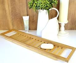 bamboo bath caddy kmart bamboo bathtub bath caddy target