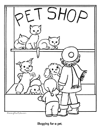 Small Picture Pet Shop Cats Page To Color Coloring Home