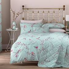 Bed sheets for twin beds Queen Beautiful Birds Duckegg Duvet Cover And Pillowcase Set Compareto Duvet Covers Duvet Sets Bedding Collections Dunelm
