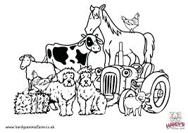 Coloring Pages Of Farm Animals Zupa Miljevcicom