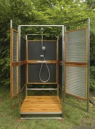 outdoor shower. Outdoor Shower