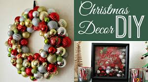Diy Christmas Decorations Diy Christmas Decorations Collab Dazzledust08 Youtube