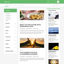 Blog Website Templates Cool Bootstrap Blog Free Template FreeTemplateco