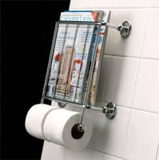 Toilet Roll Holder Magazine Rack Wall Mounted Toilet Roll Holder With Magazine Rack Bathroom 13