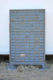 Salvage77.com » Vintage Industrial Addressograph 133 Drawer Cabinet