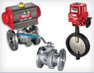 valves actuators valve automation controls a t controls automated and manual ball valves