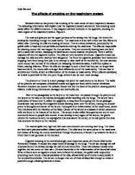 Smoking Essay Matrix Education